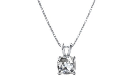 Sterling Silver Choice Of Gemstone Pendant With 18 inch Chain 88d07c52-01f4-4849-a3db-37bdf80acd5c