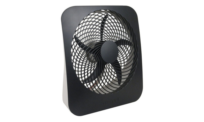 "O2-Cool Portable Battery & Electric Power Fan, 10"", 2 Speed"