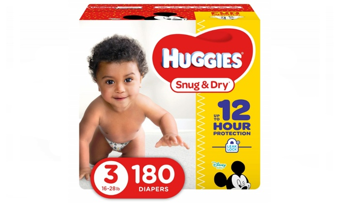 Up To 39 Off On Huggies Snug Dry Diapers S Groupon Goods