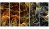 Molten Gold - Large Modern Canvas Art