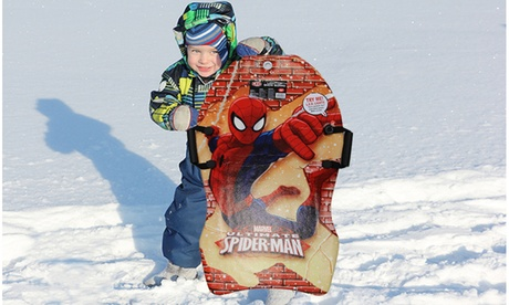 LED light-up Marvel Spiderman snow board 6dce2d3e-5461-4efb-8299-4c0edfff36df