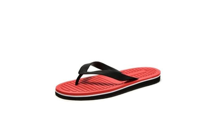Men's Ventilation Round Slippers