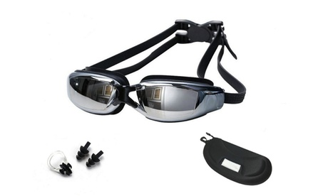 Swimming Goggles, Professional Swim Goggles,Anti-Leakage, Anti-Fog