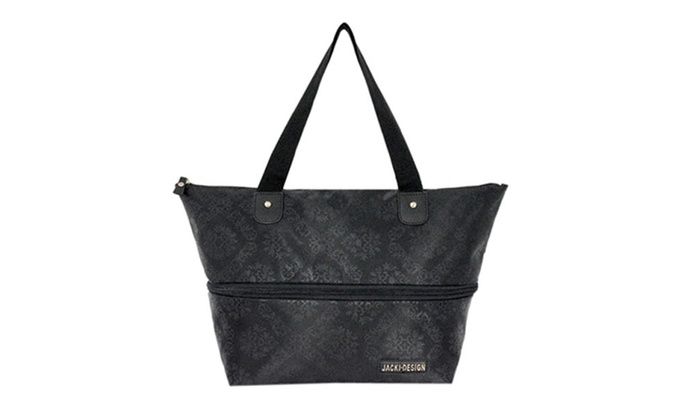 Jacki Design New Essential Expandable Tote Bag