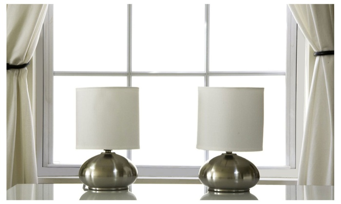 LightAccents Touch Lamps, Side Table Lamps, Touch Lamp Set (2 Pack)