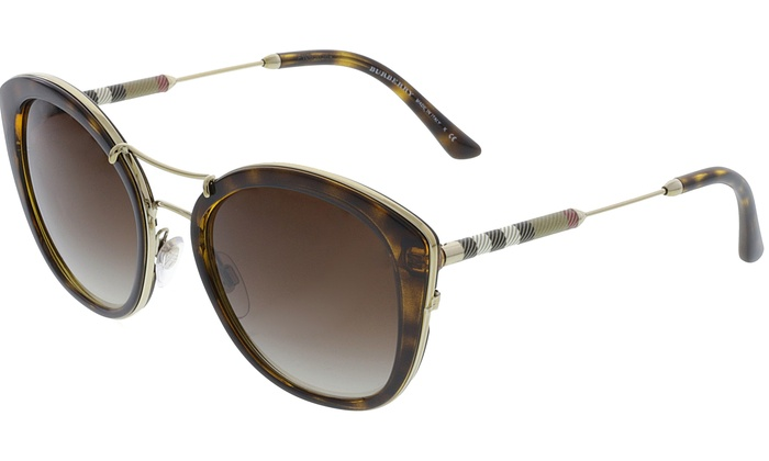 d1917aa70d2 Burberry Women s Gradient BE4251Q-300213-53 Brown Cat Eye Sunglasses ...