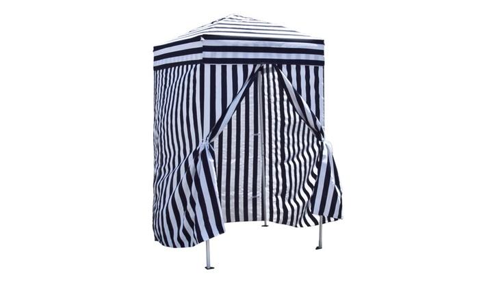 ... Dailyselections Apontus Portable Changing Cabana Stripe Privacy Tent ...  sc 1 st  Groupon & Apontus Portable Changing Cabana Stripe Privacy Tent | Groupon