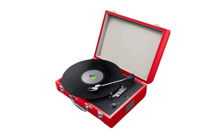 Superior Technology Bluetooth Portable Turntable (Goods Electronics Musical Instruments Dj Equipment) photo