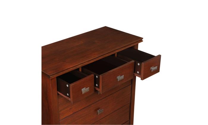 Artisan 36 X 16 5 X 36 Inch Chest Of Drawers In Medium