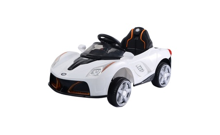 12V Battery Powered Kids Ride On Car RC Remote Control with LED Lights