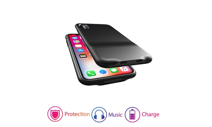 save off 460ce c501f iPhone X Case with Dual Lightning Adapter Ports For Audio and ...
