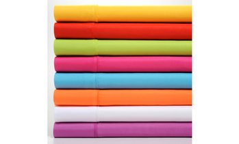 Brushed Microfiber Premier Colorful Brights Sheet Set