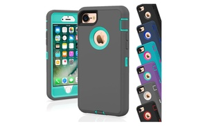 Protective Shockproof Hybrid Case Cover For Apple iPhone 7 / 7 Plus at FORTEM STORE, plus 6.0% Cash Back from Ebates.