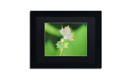 Monica Mize 'Beginning' Matted Black Framed Art d61328a2-5004-4be3-9beb-c1944a5fa2a0