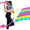 Superior Magnetic Therapy Massage Hula Hoop Slim Diet Abdominal