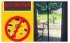 Mambate: 82.7''X39.4'' Hands Free Magnetic Magic Closer Mosquito Screen Door