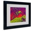 Miguel Paredes 'Enchanted Rock I' Matted Black Framed Art