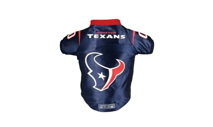 best cheap bba6c ebcec Little Earth 320135-TXNS-XS NFL Pet Premium Jersey Houston Texans - Extra  Small