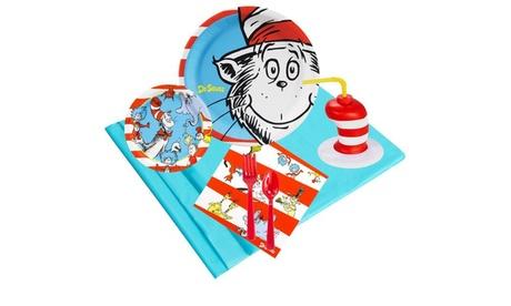 Dr Seuss Party Pack (16) Plus Molded Cups 603b2c0f-7959-4393-bd69-4911229fd677