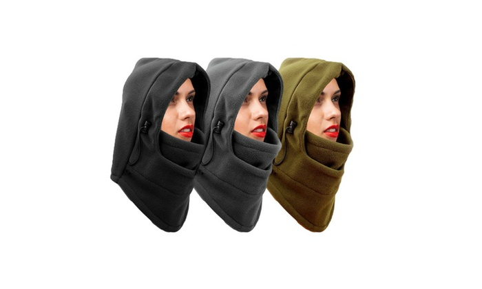 Zero Degree 8 in 1 Heavyweight Fleece Cover up Balaclava