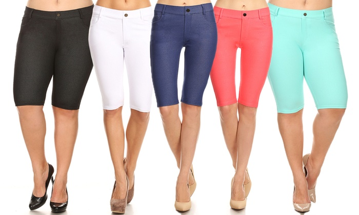 784e131f86 Style Clad Women's Bermuda Shorts (1- or 3-Pk.). Plus Sizes Available.