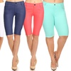 Style Clad Women's Bermuda Shorts (1- or 3-Pk.). Plus Sizes Available.