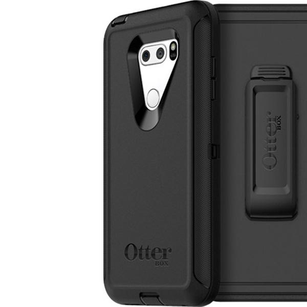 quality design 0d383 28a59 OtterBox DEFENDER EDITION Case & Holster for LG V30/V30P/V30S ThinQ/V35  ThinQ