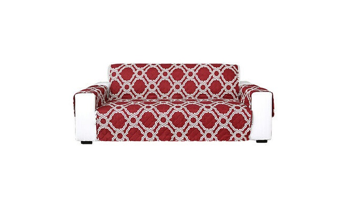 Quilted Sofa Protector Furniture Throws Cover Pet Protector Anti Skid 1//2//3 Seat
