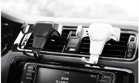 360 Gravity Auto Lock Air Vent Clip Car Phone Mount Holder Cell iPhone Universal