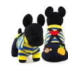 Adorable Overalls with Applique Pet Outfit Dog Clothing
