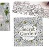 2Pack Vintage Style Secret Garden Coloring Book for Adult