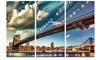 Manhattan Skyline at Summer - Cityscape Photo Metal Wall Art