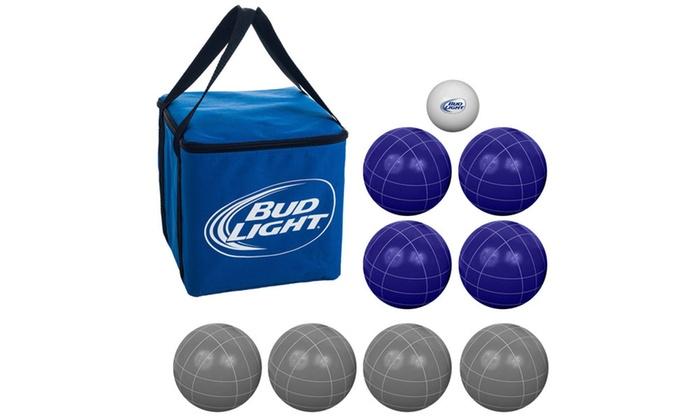 Bud Light Bocce Ball Set   Regulation Size ...