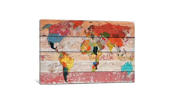 Up to 55 off on world map by irena orlov groupon goods groupon goods world map by irena orlov gumiabroncs Choice Image
