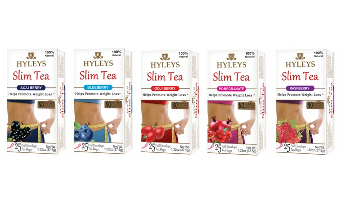 Up To 73 Off On Hyleys Slim Tea Groupon Goods