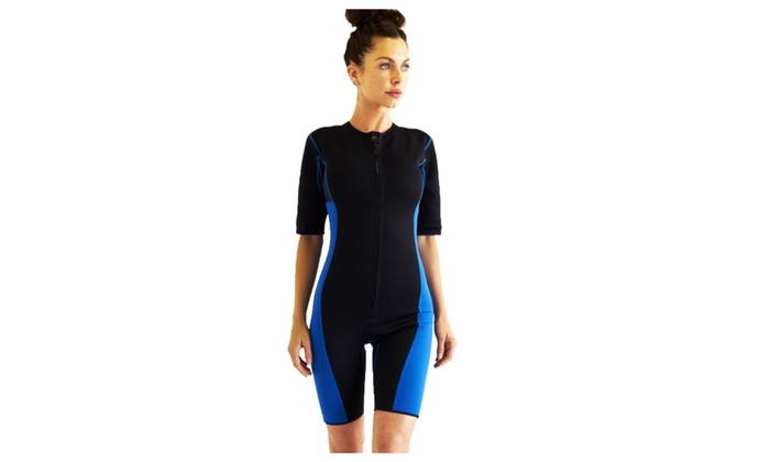 Neoprene sauna sweat workout hot wet suit unisex weight loss