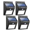 4 Pack LED Solar Motion Lights
