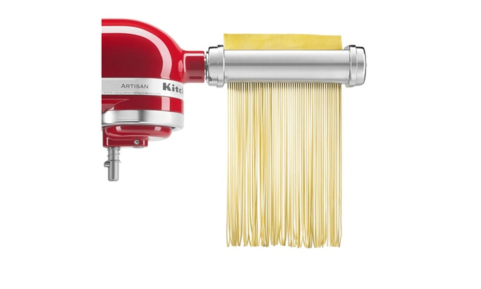 6c524eb64eacc KitchenAid KSMPRA 3-Piece Pasta Roller   Cutter Attachment Set