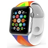 LizaTech Soft Silicone Flag Band for Apple Watch