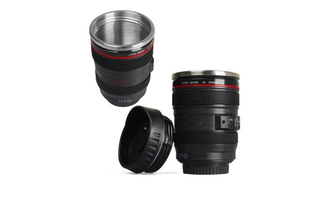 Coffee Travel Mug Thermos Camera Lens Cup Stainless Steel e31d5388-9722-4999-bec0-e7beb8716ff9