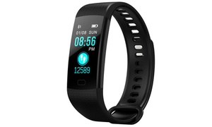 Y5 Color Screen Fitness Tracker with BP/BO/HR Heart Rate Monitor