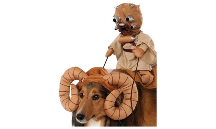 star wars bantha rider pet halloween costume