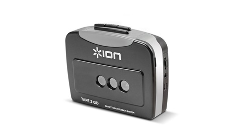 IonAudio Tape 2 Go Cassette Player and Digital Converter w/Usb Cable 09230aa5-0c67-43bb-880d-3e4db0fadc1e