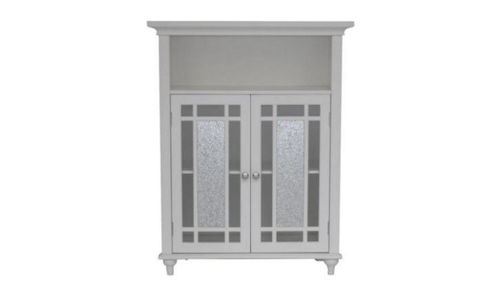 Elegant Home Fashions Deshler Double Door Floor Cabinet ...