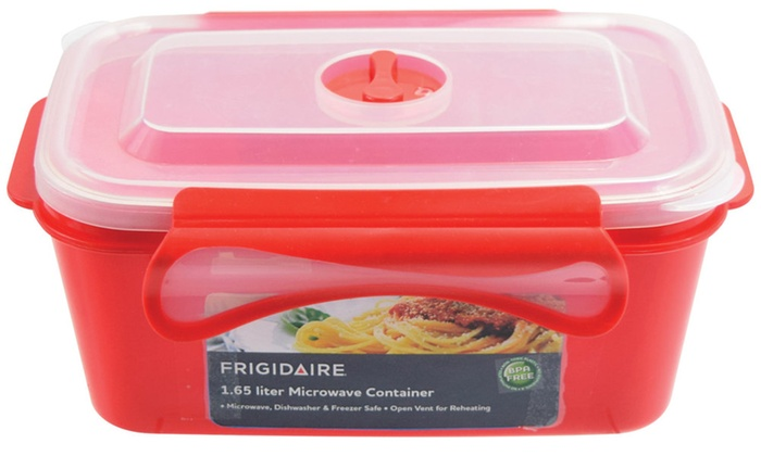 Frigidaire 1.65L Rectangular Food Storage Container ...