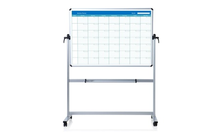 Double sided Magnetic Mobile Whiteboard bc089bb5-789d-4e94-8235-a917167265b4