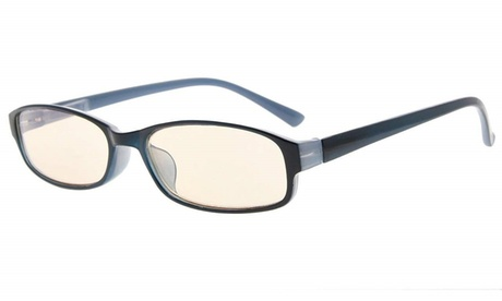 Computer Reading Glasses UV Protection Anti Glare Tinted Lens for Women