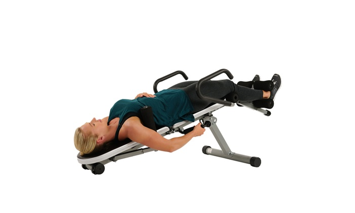 Merveilleux ... Sunny Health U0026 Fitness Invert Extend N Go Multi Use Inversion Table ...