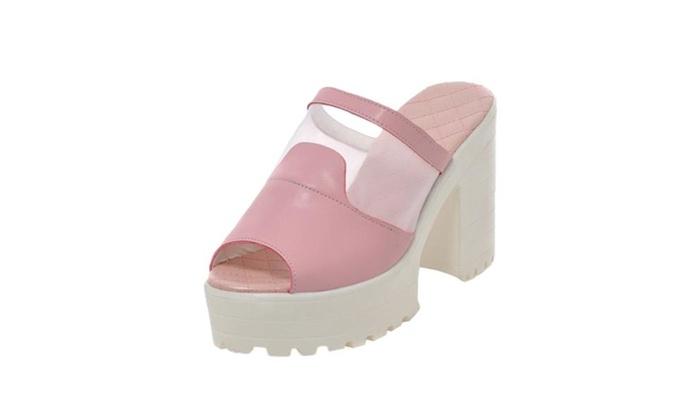Women Sexy Platform Grenadine High Heel Summer Sandal