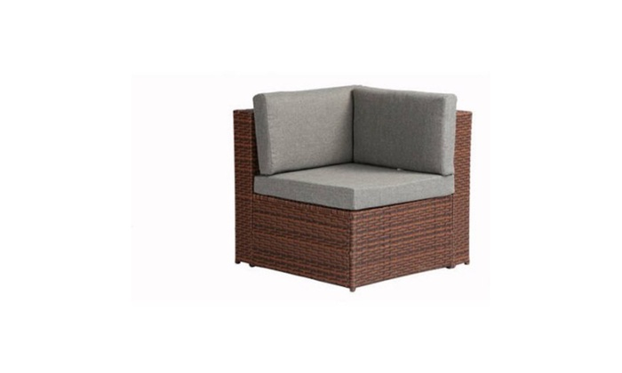 071a6bd8c22 Baner Garden Outdoor Furniture Complete Patio Cushion PE Wicker Rattan